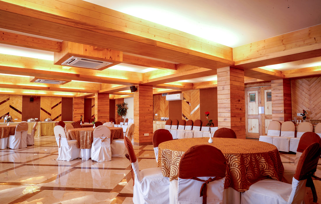 Banquet Hall for Weddings and Events at 4 star hotel in Shimla